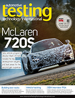 Automotive Testing Technology International Magazine June 2017