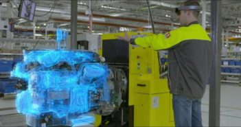 Mixed reality to enhance quality control at Renault Trucks factory in France