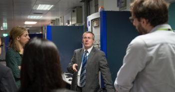 Millbrook hosts delegation on emissions testing and evaluation