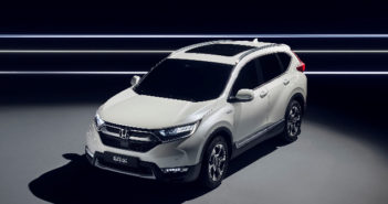 Honda unveils prototype of its first hybrid SUV for Europe in Frankfurt