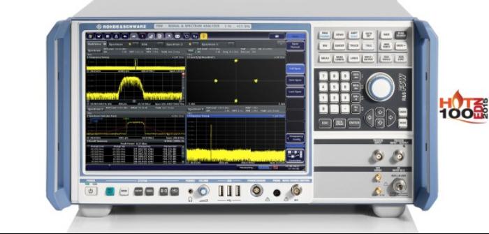 Rohde & Schwarz launches latest 5GHz bandwidth signal analyzer