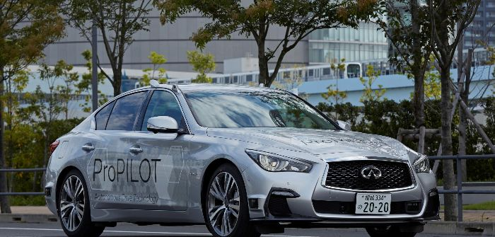 Nissan tests fully autonomous prototype technology in Tokyo