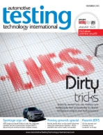 Automotive Testing Technology International Magazine September 2017