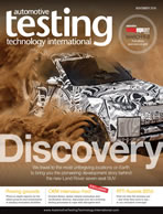 Automotive Testing Technology International Magazine November 2016