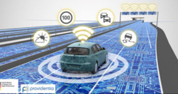 Real-time traffic prediction via highly automated fleet communication