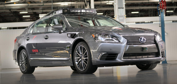 TRI unveils latest automated research vehicle based on the Lexus LS 600hL