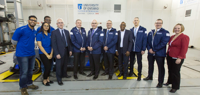 New moving ground plane installed at University of Ontario Institute of Technology