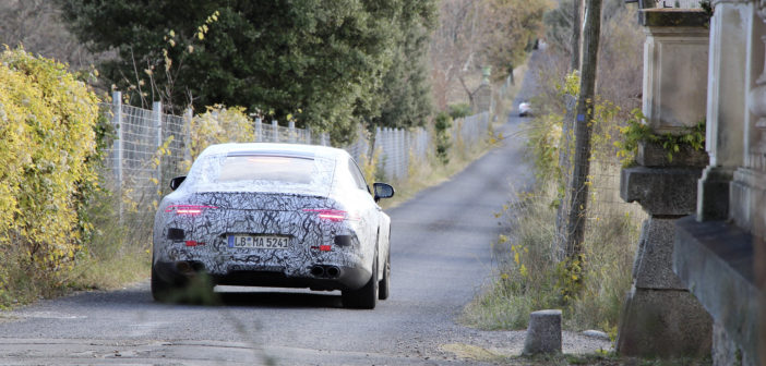 Mercedes-AMG GT Coupe testing images