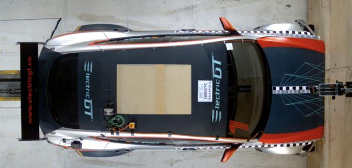 Tesla Model S P100D race car passes FIA crash tests ahead of 2018 season