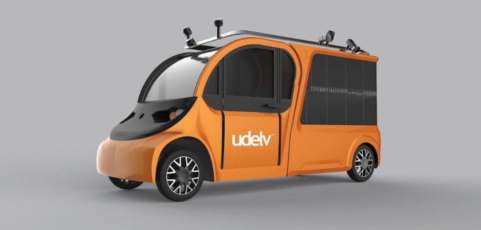 Udelv autonomous last-mile delivery vehicles take to roads in California