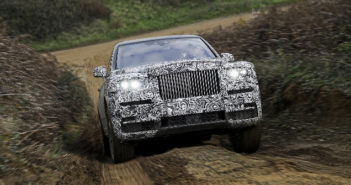 Rolls-Royce badges new high-sided vehicle Cullinan