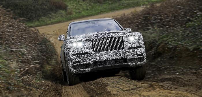 Rolls-Royce badges new high-sided vehicle Cullinan