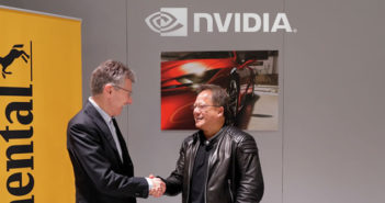 Continental and Nvidia in partnership