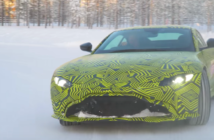 Aston Martin visits Finland with Vantage