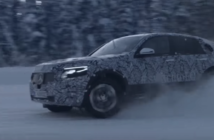 Mercedes-Benz EQC winter testing