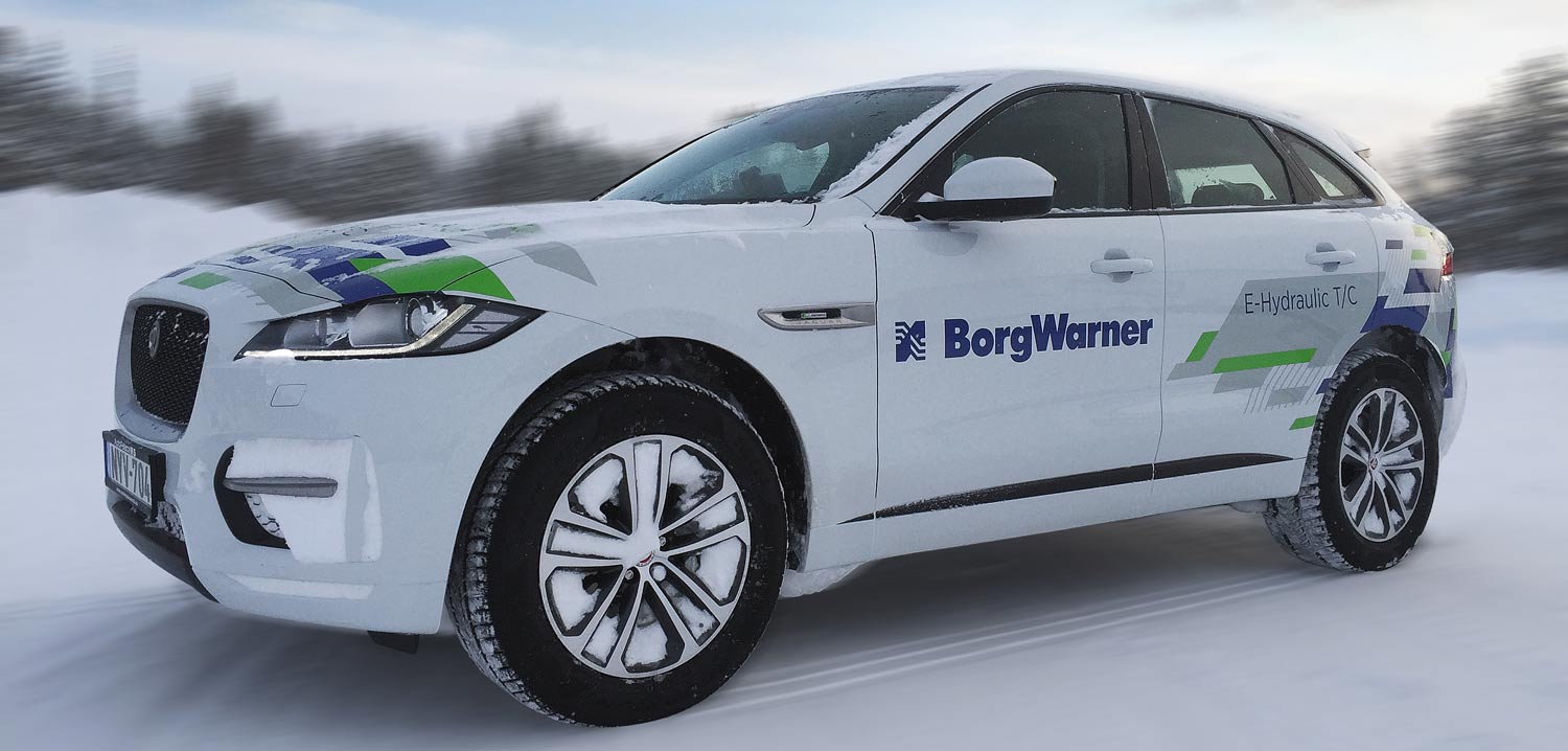 Borgwarner Tests 48v Solutions In Arctic Conditions