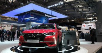 Groupe PSA and Huawei unveil their first connected vehicle