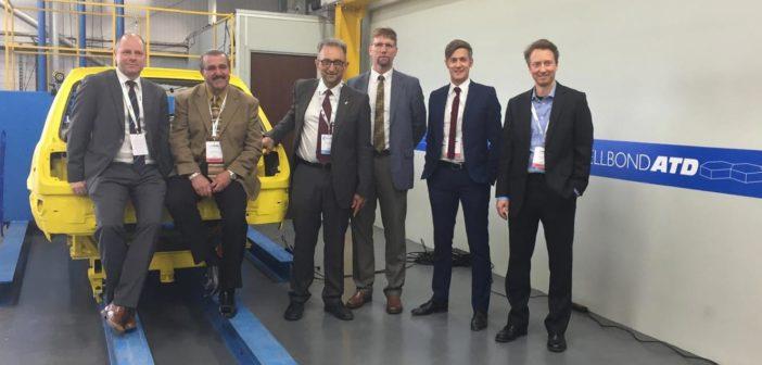 Cellbond celebrates 30 years of crash testing and unveils new dummy