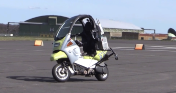 SHOW NEWS: AB Dynamics to demonstrate riderless motorcycle that will improve ADAS and AV testing
