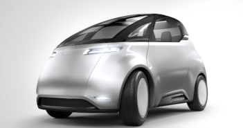 The Swedish start-up has revealed the first guise of its new electric car, scheduled for launch in 2019