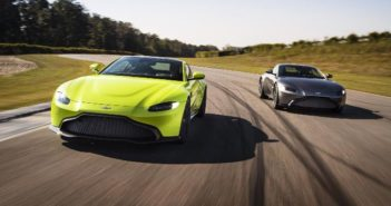 New Aston Martin test and development base opens at Silverstone racetrack in the UK