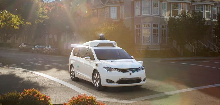 FCA US adds 62,000 Chrysler Pacifica Hybrid minivans to Waymo's self-driving fleet