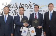 Geely and Shell in research and development partnership