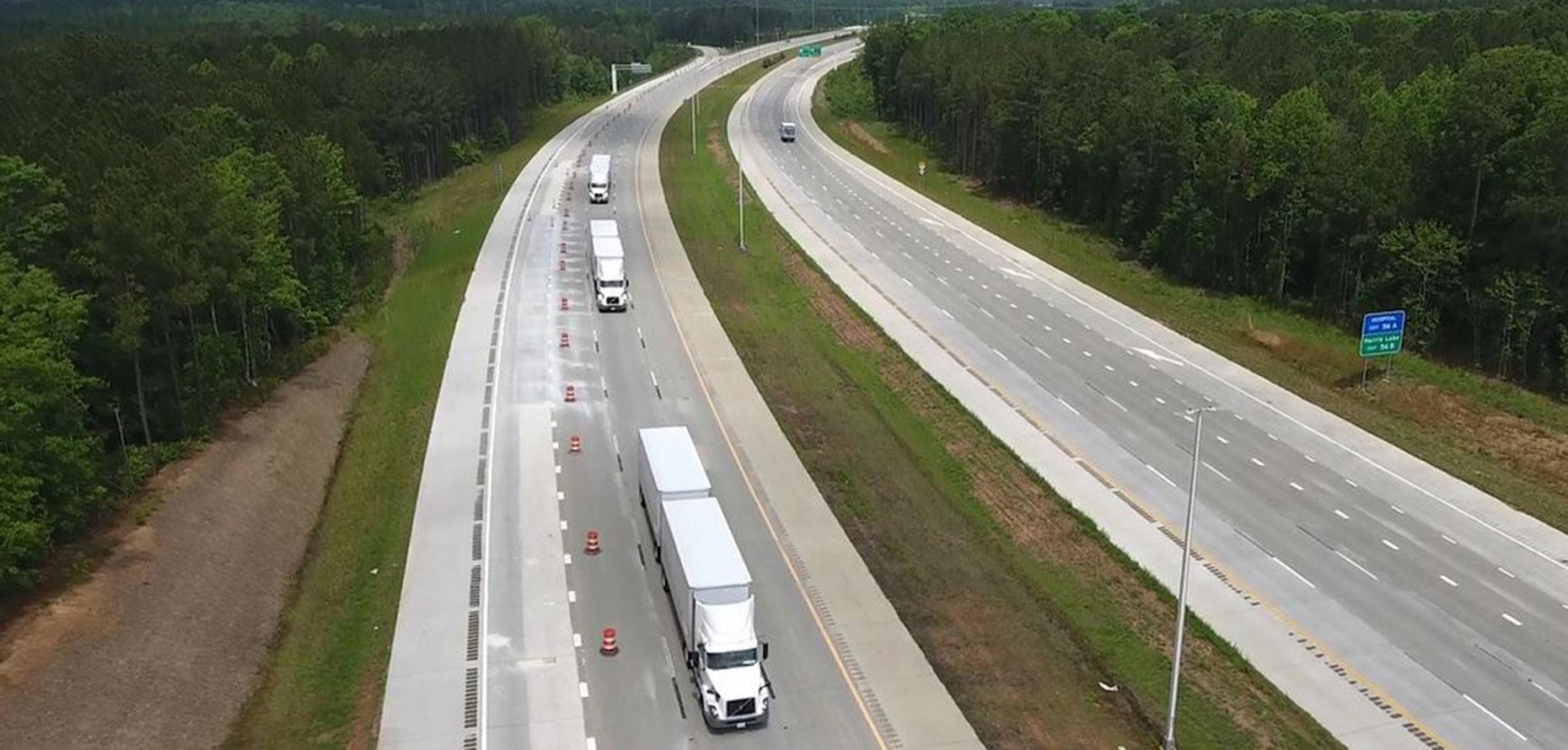 Volvo Trucks Demonstrates Platooning In North Carolina Automotive Testing Technology International
