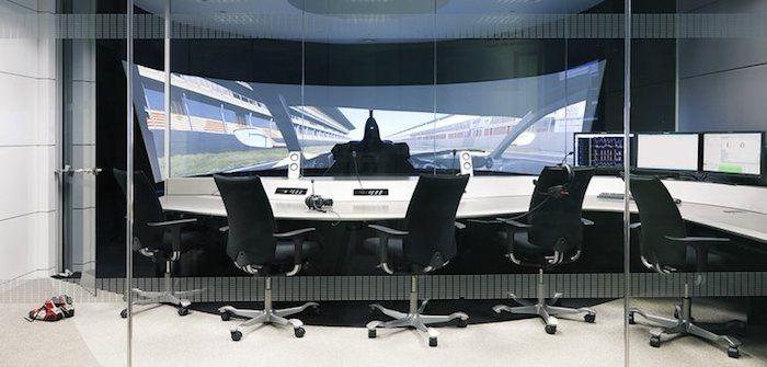 McLaren Applied Technologies' new vehicle dynamics simulator