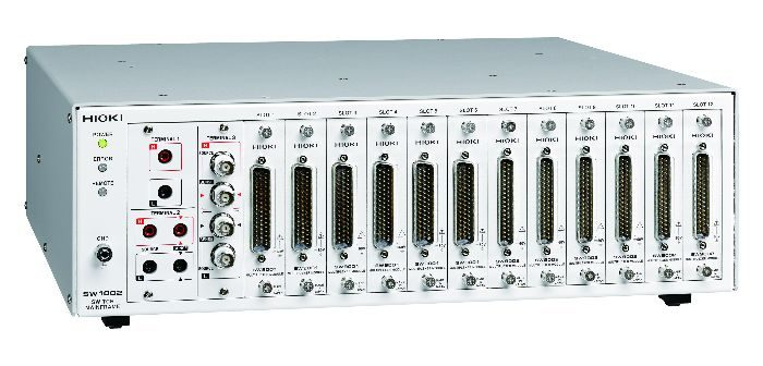 Hioki develops multichannel switches to facilitate measurement of multiple batteries