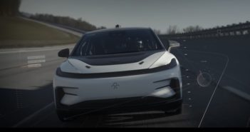 Faraday Future's FF91 undergoes evaluation at TRC