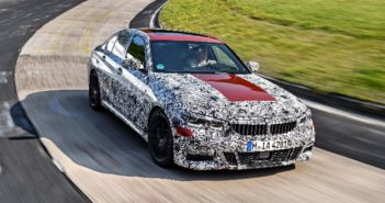 All-new BMW 3 Series takes on the Nürburgring Nordschleife in testing