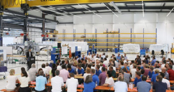 Teamtechnik inaugurates its largest production hall to date