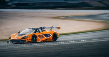 McLaren 720S GT3 race car's development program intensifies