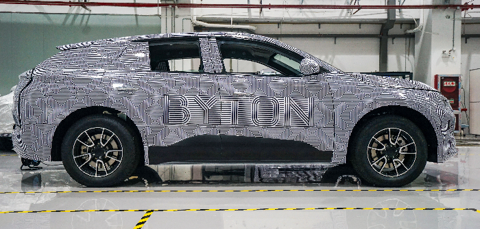 Byton starts M-Byte prototype road tests under real-world conditions