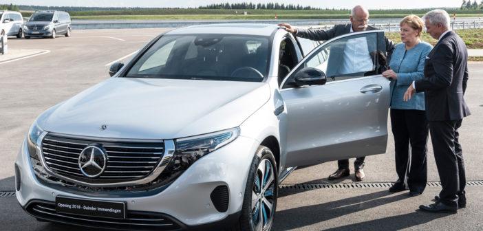 Daimler opens new test center in Immendingen
