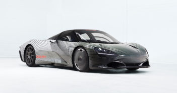 McLaren hybrid Speedtail prototype begins real-world testing