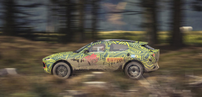 Aston Martin DBX begins real world testing