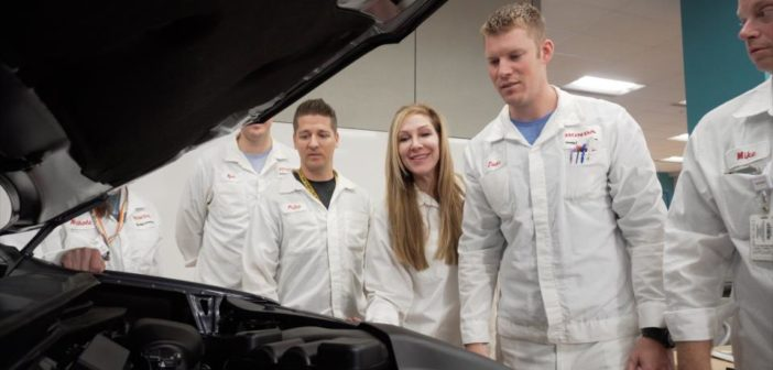 Honda R&D Americas chief engineer Lara Harrington reflects on her role
