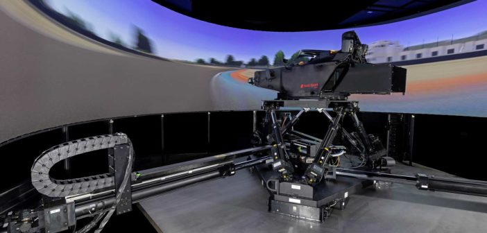 Audi Motorsport installs dynamic driving simulator