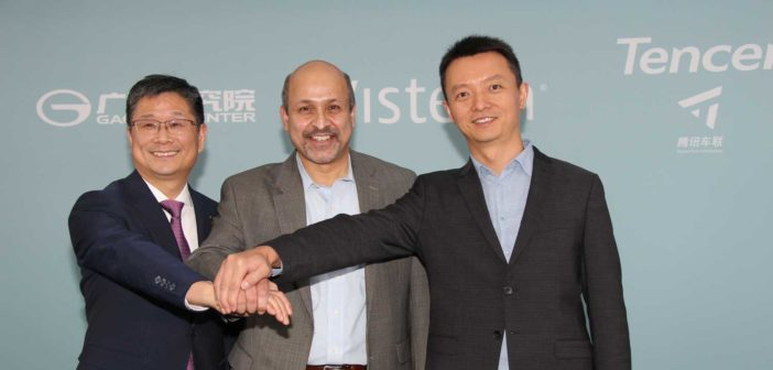 Visteon announces cooperation with Tencent