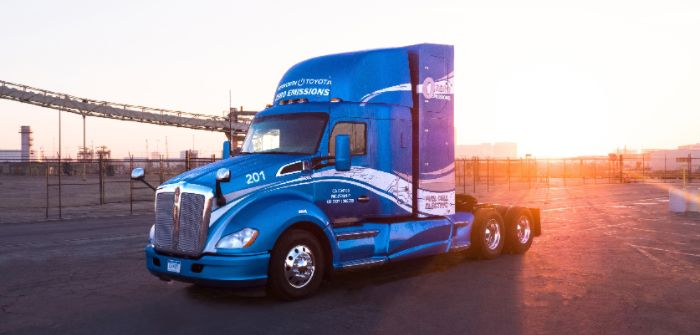 Toyota and Kenworth collaborate to develop zero-emissions truck