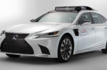 Lexus LS 500h TRI-P4 Automated Driving Test Vehicle