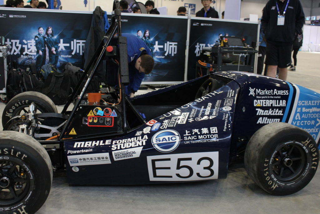 Racing Electric Cars With Team Bath Racing Electric Automotive Testing Technology International