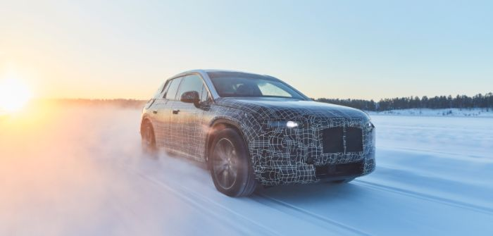 BMW iNext undergoes evaluation in Arctic conditions
