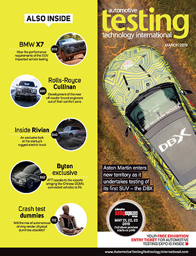 Automotive Testing Technology International Magazine March 2019