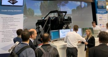 Cruden showcases DiL simulators for ADAS/AV development