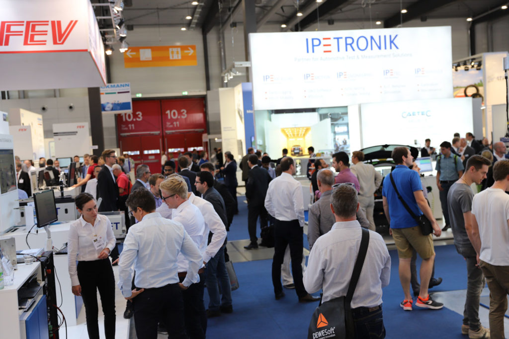 Automotive Testing Expo Europe busy