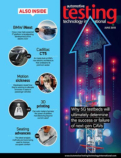 Automotive Testing Technology International Magazine June 2019
