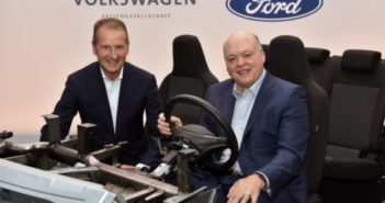 Ford and VW to share autonomous and electric vehicle technology